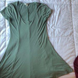 Francesca's light green sundress/t-shirt dress